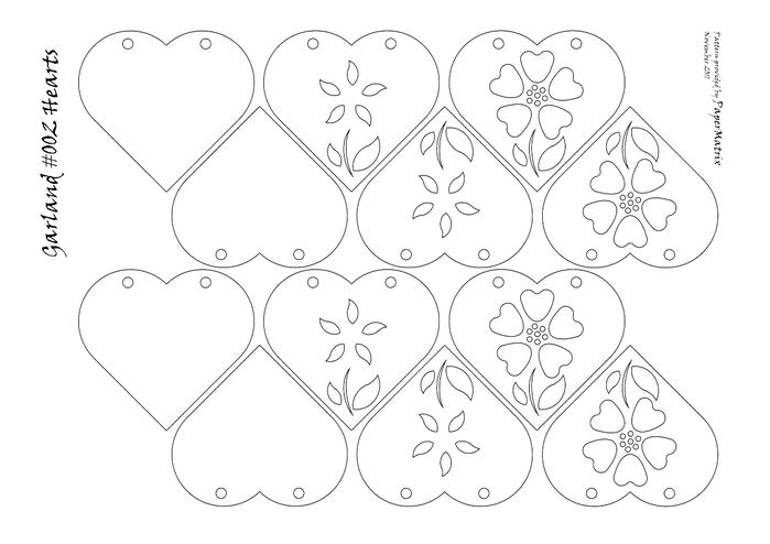 Картинки цветов для вырезания 4