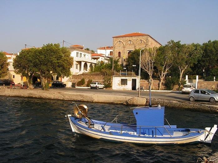 Остров Лесбос - Остров одетый в зелень сосен, оливковых деревьев и дубов. Часть 1 78879