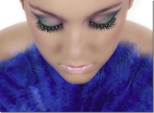 Новогодний макияж 2013 цветовая