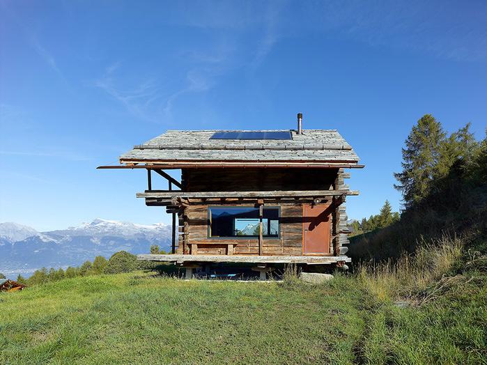 трухлявый дом фото 1 (700x524, 199Kb)