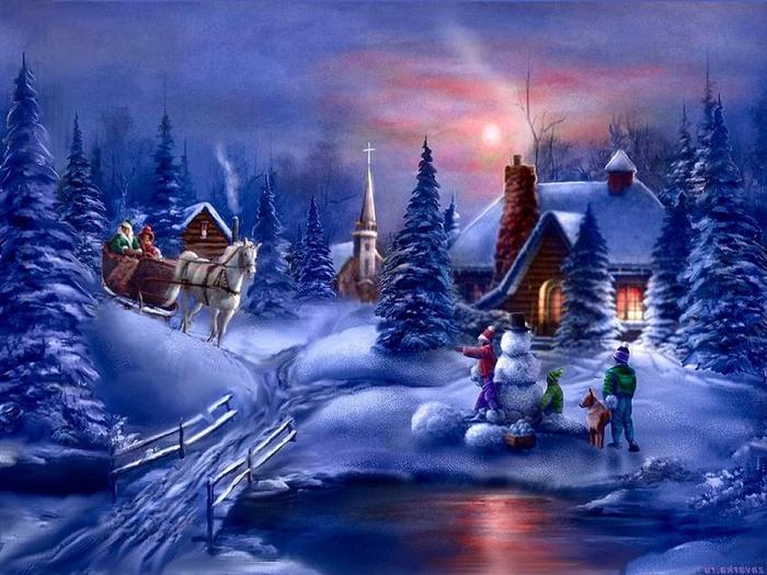 С наступающим Новым Годом и Рождеством. 21706
