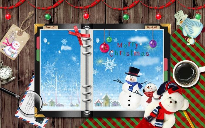 С наступающим Новым Годом и Рождеством. 85318