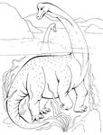 Превью брахиозавр (532x700, 155Kb)
