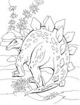 Превью стегозавр (532x700, 159Kb)