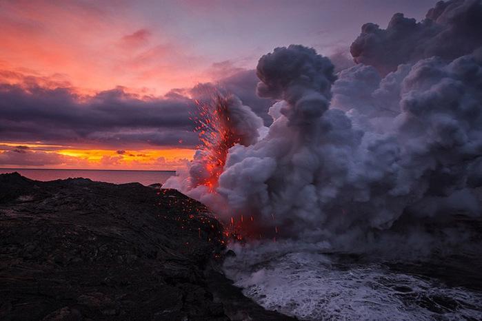 Vulcões do Havaí Foto 2 (700x466, 98Kb)