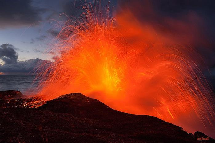 Vulcões do Havaí Foto 4 (700x466, 118Kb)