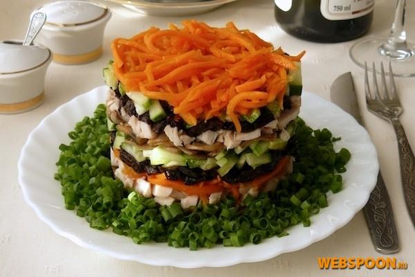 Рецепты с фото. рецепт салат обжорка Рецепты, Фоторецепты.
