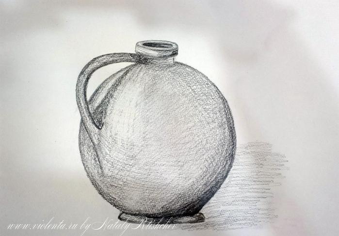 Натюрморт картинки простым карандашом 4