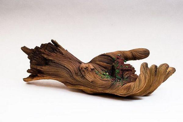 деревянные скульптуры фото 2 (600x400, 32Kb)
