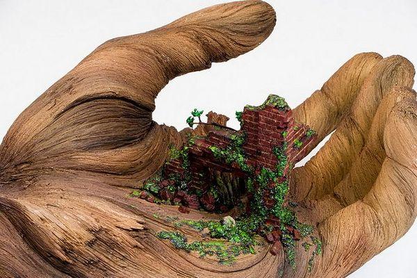 деревянные скульптуры фото 4 (600x400, 71Kb)