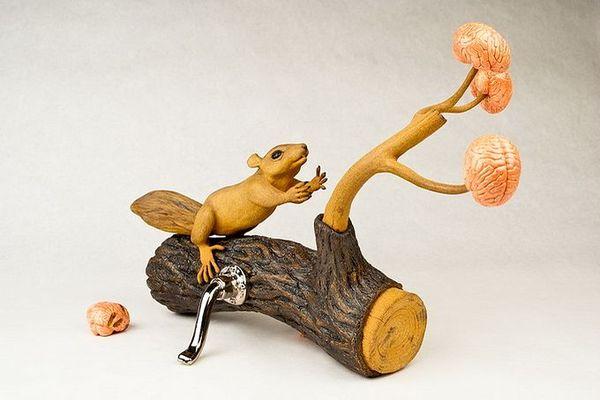 деревянные скульптуры фото 6 (600x400, 35Kb)