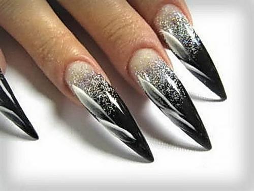 Яркие дизайн ногтей