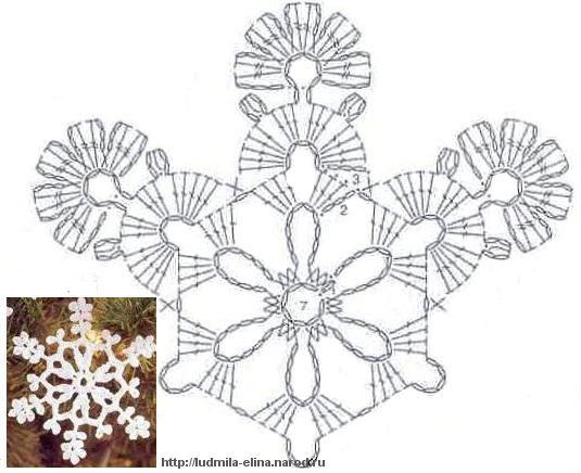 снежинки (3) (535x436, 43Kb)