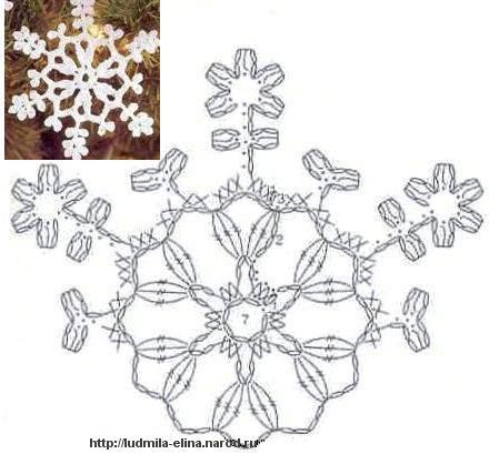снежинки (15) (440x409, 34Kb)
