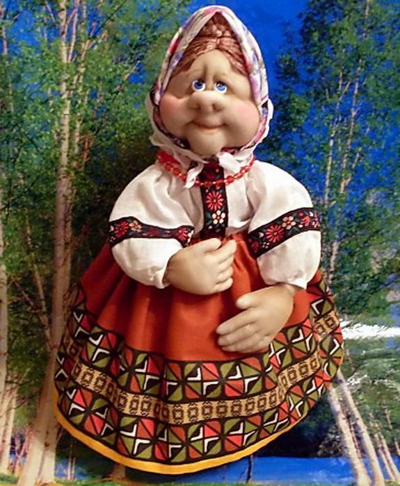 Мастер класс кукла своими руками из колготок для начинающих