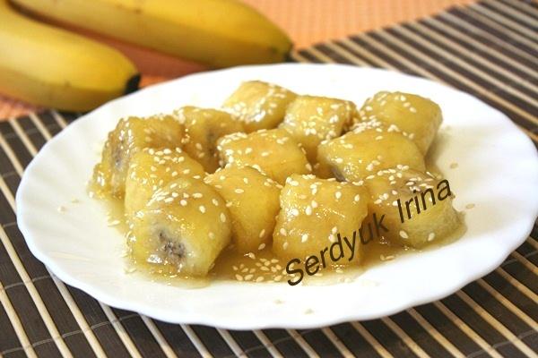 Бананы в карамели в домашних условиях