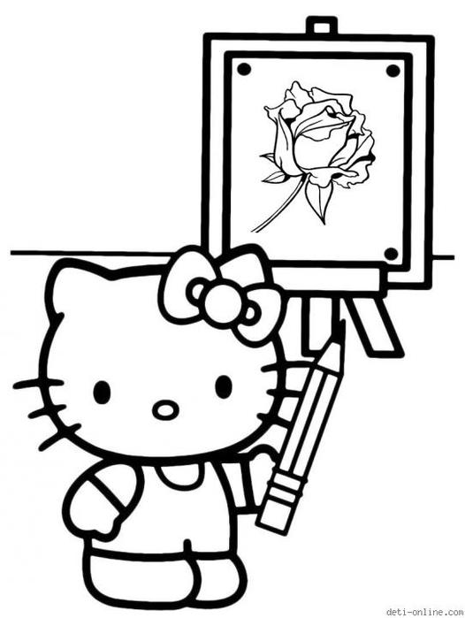 贴图:Hello Kitty ! (第一部分) - maomao - 我随心动