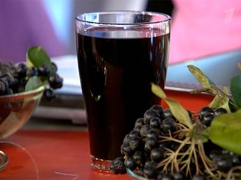 сок черноплодной рябины (480x360, 31Kb)