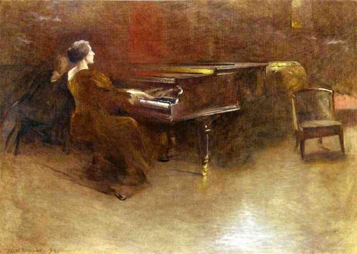 На фортепиано (700x498, 59Kb)