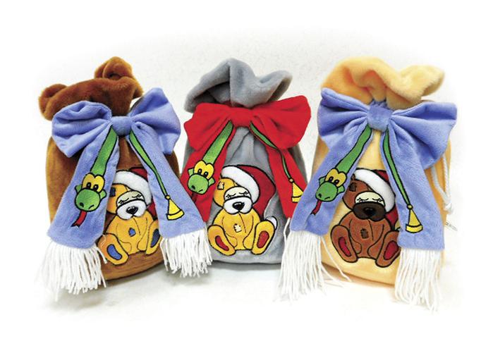 Подарочные мешки детям своими руками