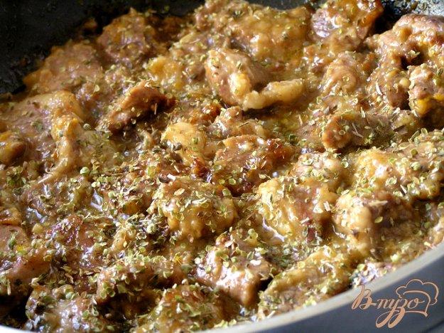 Свинина в апельсиновом соусе с орегано 14319