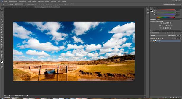 Photoshop. Изменяем пропорции снимка, не допуская искажений
