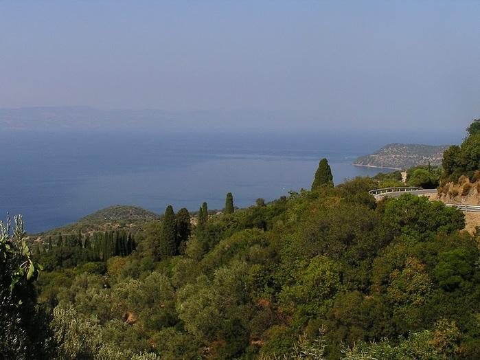 Остров Лесбос - Остров одетый в зелень сосен, оливковых деревьев и дубов. Часть 1 86948