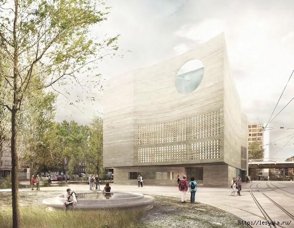 Новый Аквариум в Базеле от Boltshauser Architekten