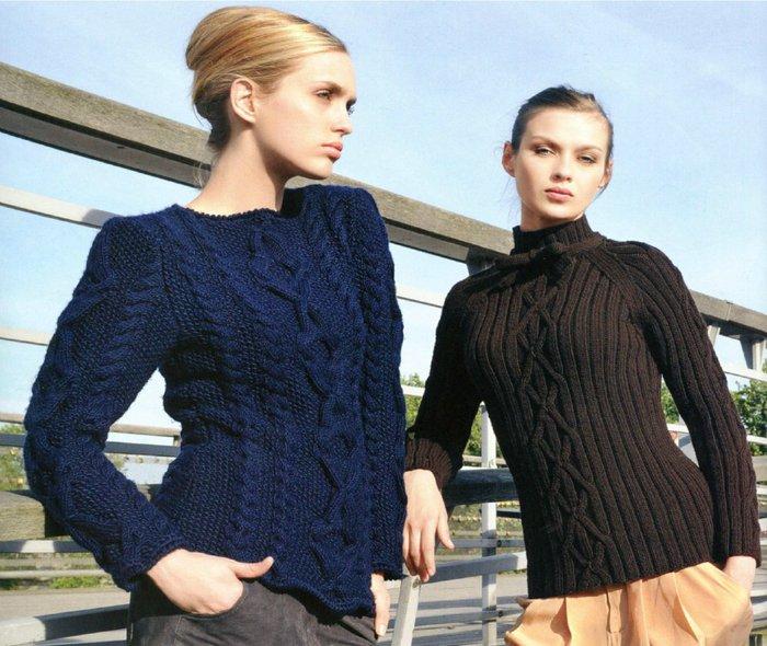вязание пуловеры (700x590, 92Kb)