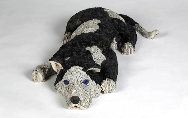 скульптуры собак из велосипедных деталей 1 (640x404, 125Kb)