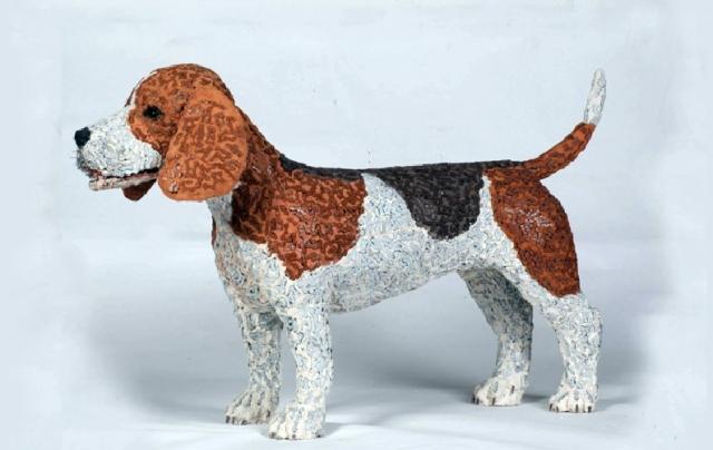 скульптуры собак из велосипедных деталей 9 (640x404, 146Kb)