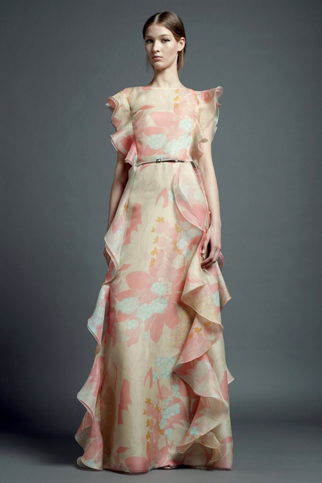 Stylish and classy valentine couture
