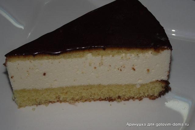 Торт бисквитный с птичьем молоком рецепт с фото