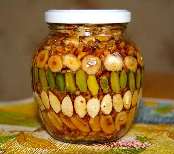 Как сделать из мёда грецких орехов и 656