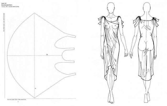 Выкройки платья без швов