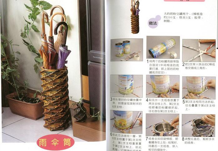 Журналы по плетение из газета