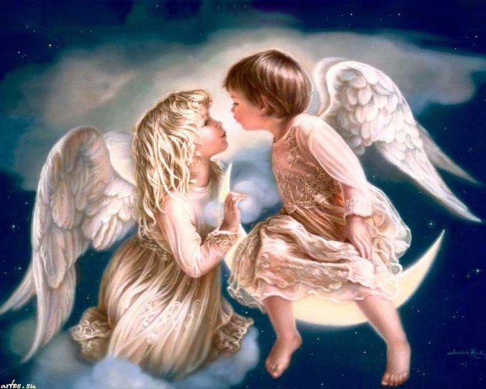 Ангел рисунок красивый