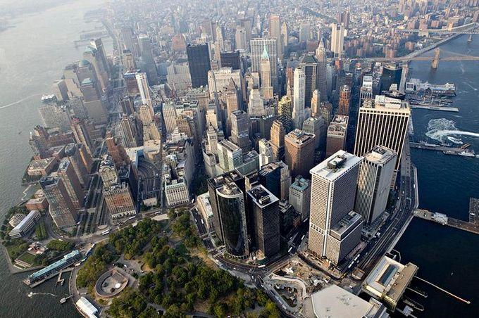 нью-йорк фото с высоты птичьего полета 2 (680x452, 101Kb)