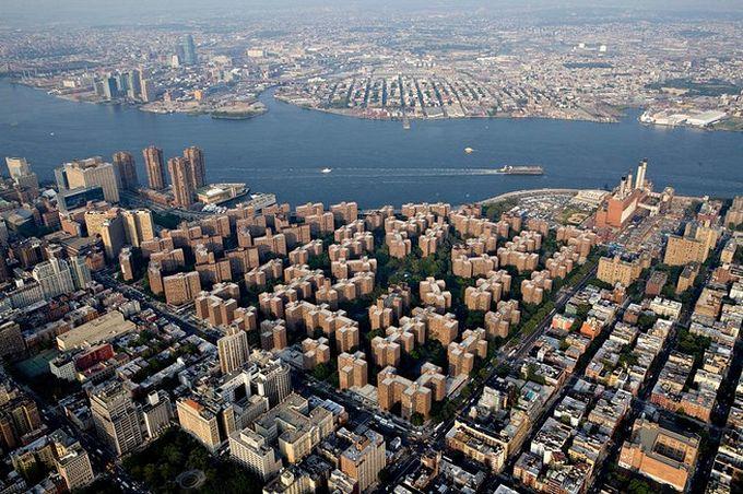 нью-йорк фото с высоты птичьего полета 6 (680x452, 112Kb)