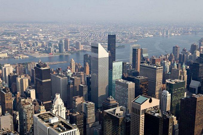 нью-йорк фото с высоты птичьего полета 8 (680x452, 88Kb)
