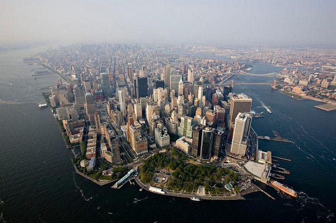 нью-йорк фото с высоты птичьего полета 12 (680x452, 70Kb)