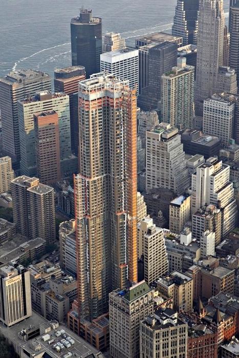 нью-йорк фото с высоты птичьего полета 16 (467x700, 321Kb)