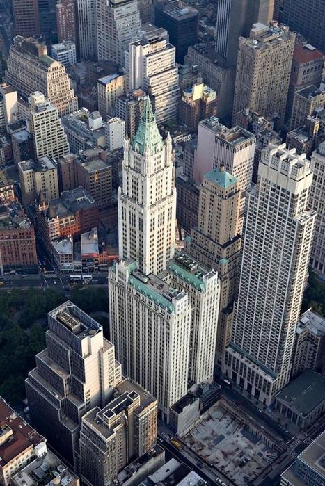 нью-йорк фото с высоты птичьего полета 17 (467x700, 324Kb)