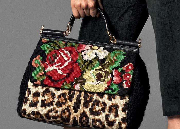вышитая сумка - Самое