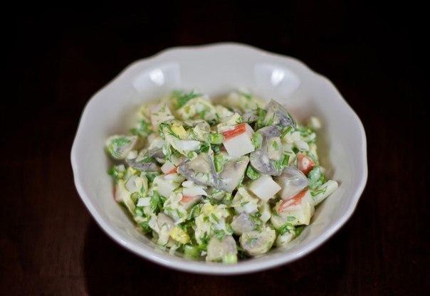 Салат из крабовых палочек (604x416, 33Kb)