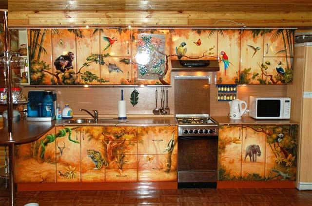 Расписать стену в квартире своими руками фото 709