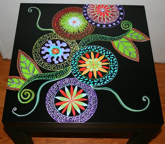 Рик Чидл: чудесные идеи росписи мебели. 25810