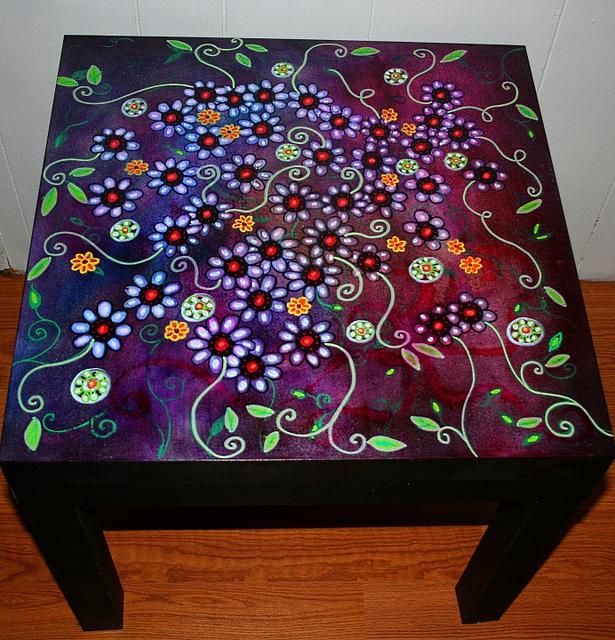 Рик Чидл: чудесные идеи росписи мебели. 56739