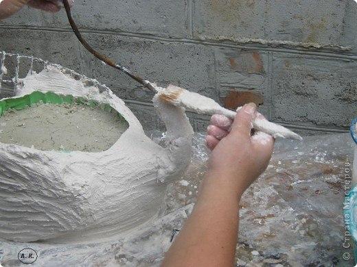 Изготовление садовых скульптур своими руками