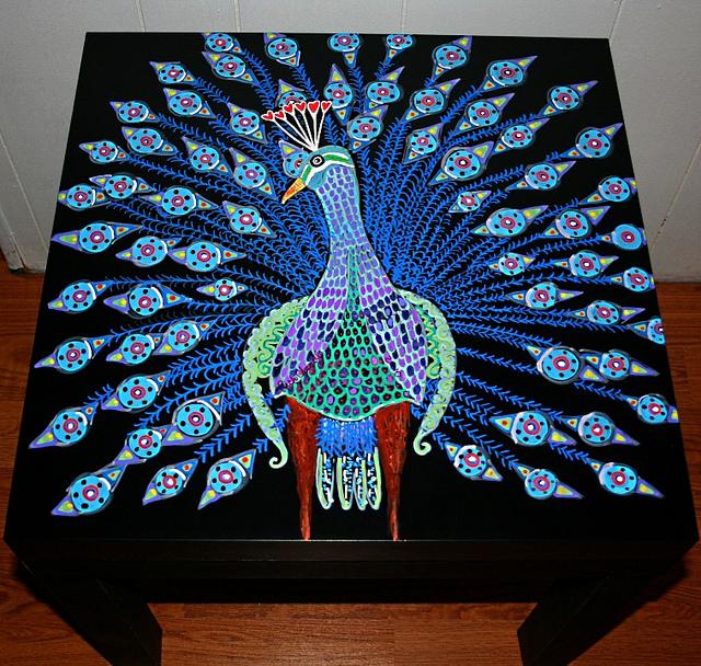 Рик Чидл: чудесные идеи росписи мебели. 35954